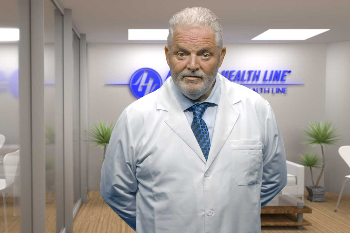 Dr. Christopher John, Medical Director for Asbestos Health Line
